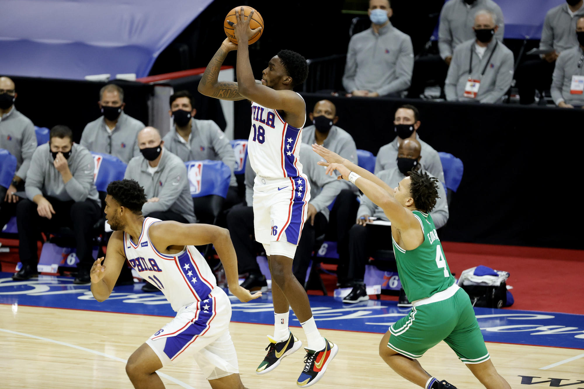 Sixers Veteran Dwight Howard Loves What Shake Milton Tyrese Maxey Bring