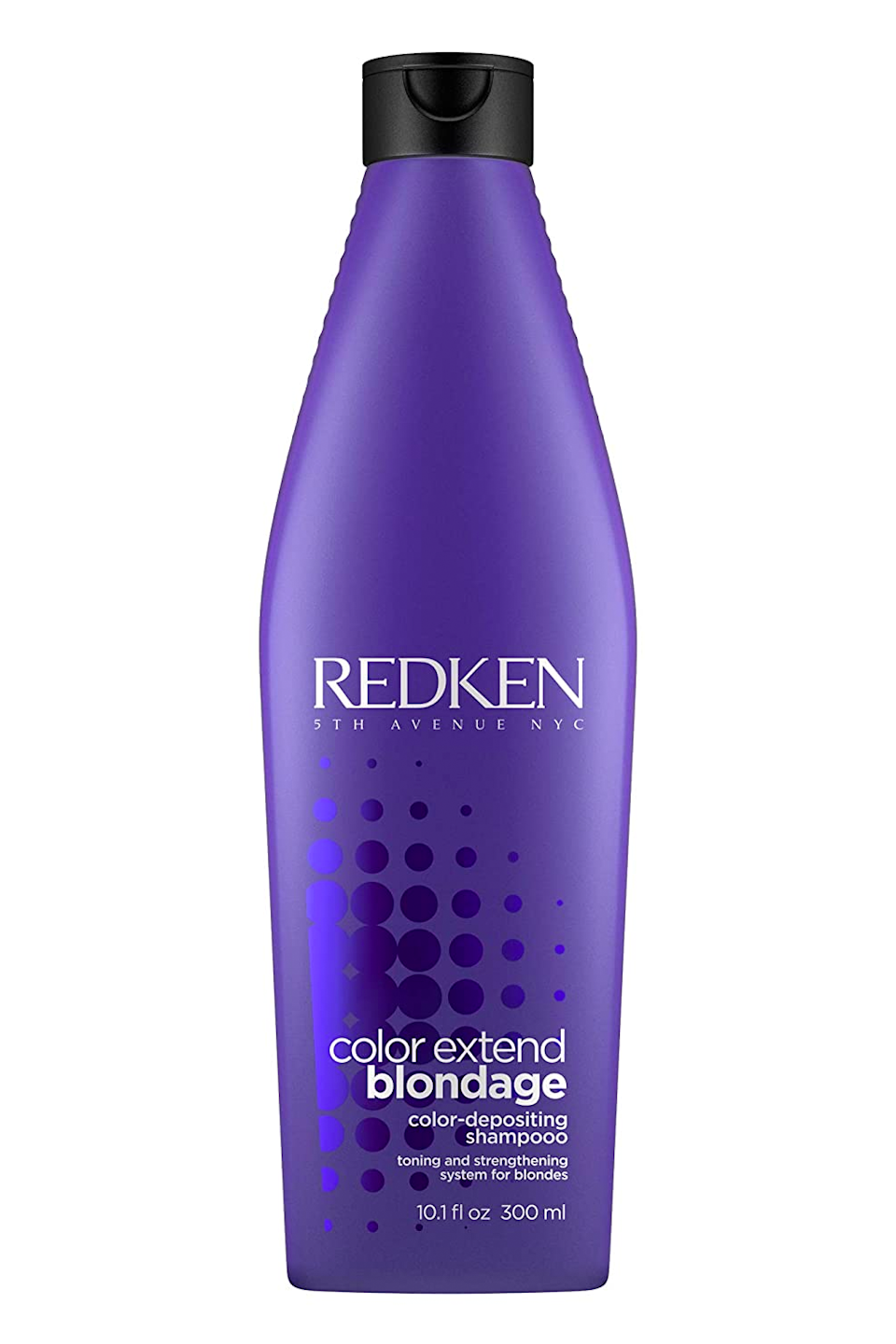 """<p><strong>REDKEN</strong></p><p>ulta.com</p><p><strong>$40.00</strong></p><p><a href=""""https://go.redirectingat.com?id=74968X1596630&url=https%3A%2F%2Fwww.ulta.com%2Fcolor-extend-blondage-color-depositing-purple-shampoo%3FproductId%3DxlsImpprod18231009&sref=https%3A%2F%2Fwww.cosmopolitan.com%2Fstyle-beauty%2Fbeauty%2Fg33576495%2Fbest-hair-toner%2F"""" rel=""""nofollow noopener"""" target=""""_blank"""" data-ylk=""""slk:Shop Now"""" class=""""link rapid-noclick-resp"""">Shop Now</a></p><p>Speaking of in-shower toners, blondes can't go wrong with a good ol' <a href=""""https://www.cosmopolitan.com/style-beauty/beauty/g10225071/best-purple-shampoo/"""" rel=""""nofollow noopener"""" target=""""_blank"""" data-ylk=""""slk:purple shampoo"""" class=""""link rapid-noclick-resp"""">purple shampoo</a>. This one from Redken not only cleanses and hydrates your hair, but also blasts it with neutralizing violet pigments. The result? <strong>Smoother, cooler-toned blonde hair with zero brass</strong>. Just don't overuse it, k? Think of it as a spot treatment for when your hair is looking dull or brassy.</p>"""