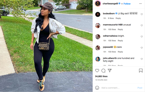 Tammy Rivera's recent post has fans praising the star for her apparent weight loss. Photo:@charliesangelll/Instagram