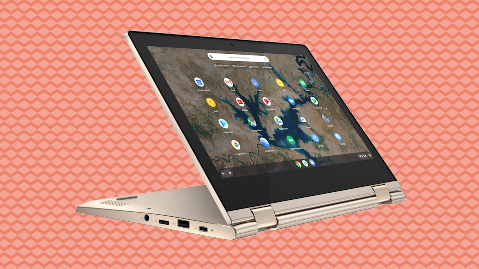 It's a tabtop! It's a laplet! It's a Chromebook for less than $200! (Photo: Walmart)
