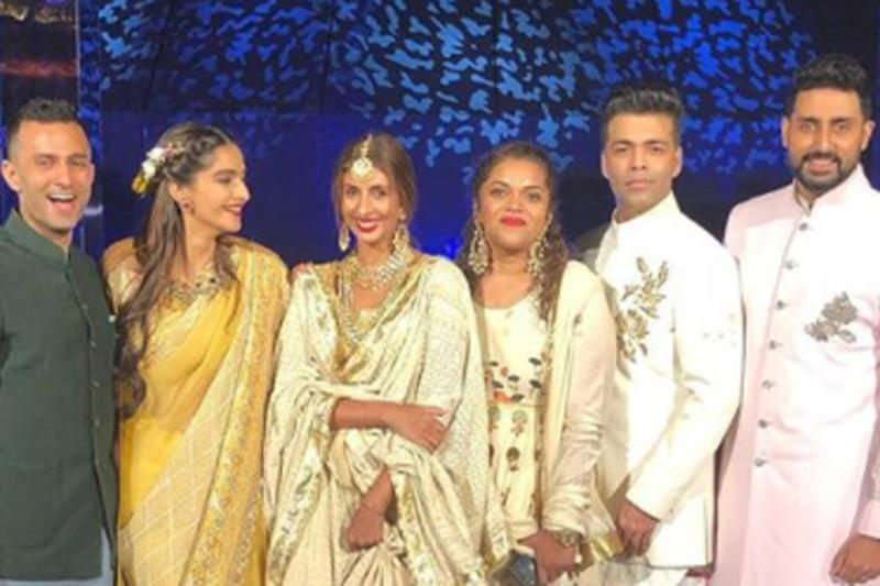 Dressed in the best, celebrities had a ball of time at the wedding festivities where they danced their hearts out and posed for glamorous selfies.