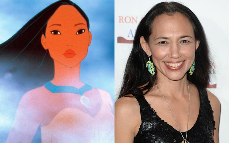 Irene Bedard – Pocahontas in 'Pocahontas' (1995) - Credit: Rex/Getty