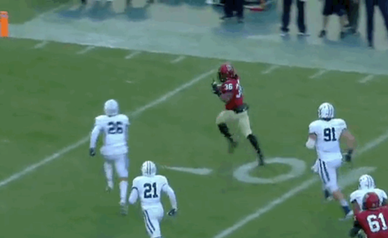 This 'Unsportsmanlike' Taunt Actually Cost Harvard Player TD Vs. Yale