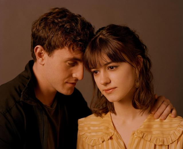 We're equally as obsessed with Marianne's fringe as we are with Connell's chain. (Hulu/BBC Three)