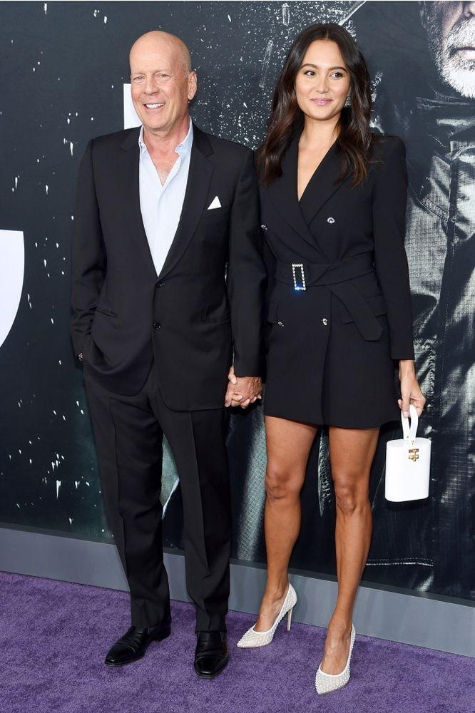 Bruce Willis, 63, and Wife Emma Heming, 40, Show Affection ...
