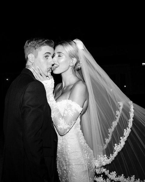 """<p>The couple married in a lavish ceremony in South Carolina, with Hailey later sharing more gorgeous photos from the event in Febraury 2020.</p><p><a href=""""https://www.instagram.com/p/B8cp_WnlhFt/"""" rel=""""nofollow noopener"""" target=""""_blank"""" data-ylk=""""slk:See the original post on Instagram"""" class=""""link rapid-noclick-resp"""">See the original post on Instagram</a></p>"""