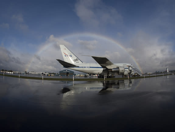 NASA's SOFIA Flying Telescope May Be Mothballed This Year