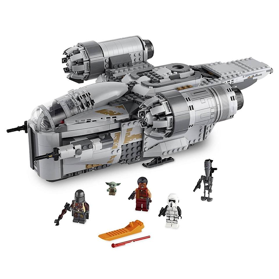 <p>The <span>Lego The Razor Crest Playset</span> ($130) has 1,023 pieces and is best suited for kids ages 10 and up.</p>