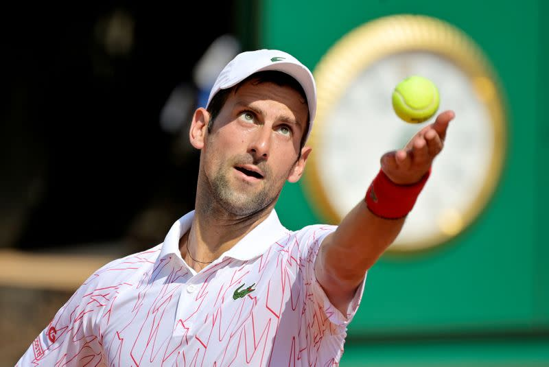 Djokovic back to winning ways in Rome after U.S. Open default