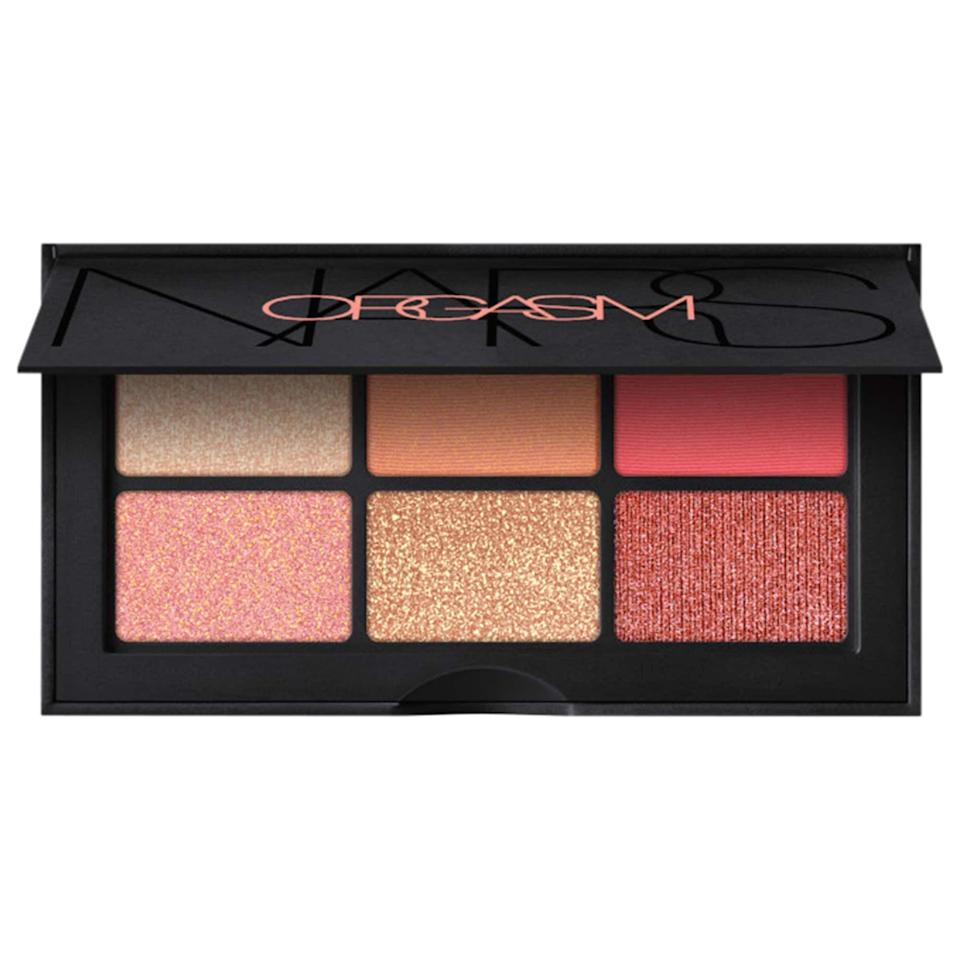 """<p>Once you try this incredible <a href=""""https://www.popsugar.com/buy/NARS-Mini-Orgasm-Eyeshadow-Palette-584453?p_name=NARS%20Mini%20Orgasm%20Eyeshadow%20Palette&retailer=sephora.com&pid=584453&price=25&evar1=bella%3Aus&evar9=47571081&evar98=https%3A%2F%2Fwww.popsugar.com%2Fbeauty%2Fphoto-gallery%2F47571081%2Fimage%2F47571370%2FNARS-Mini-Orgasm-Eyeshadow-Palette&list1=shopping%2Cmakeup%2Cbeauty%20products%2Csummer%2Csummer%20beauty%2Cbeauty%20shopping%2Cmakeup%20palettes%2Ceyeshadow%20palettes&prop13=api&pdata=1"""" class=""""link rapid-noclick-resp"""" rel=""""nofollow noopener"""" target=""""_blank"""" data-ylk=""""slk:NARS Mini Orgasm Eyeshadow Palette"""">NARS Mini Orgasm Eyeshadow Palette</a> ($25), you'll want to use it every single day.</p>"""