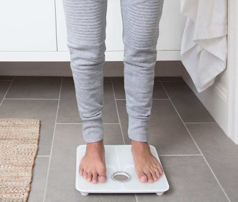 This smart scale can measure more than your weight. (Photo: Amazon)