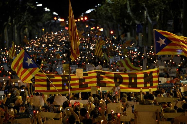 Catalonia's independence drive has sparked mass street protests