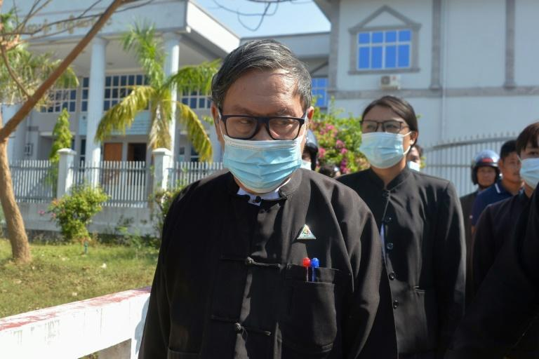 Khin Maung Zaw spent a total of nine years behind bars