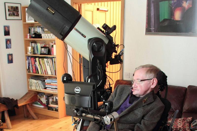 stephen hawking earth done for humans years