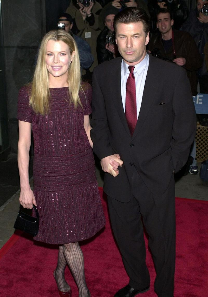 Alec was previously married to KIm Bassinger. Source: Getty