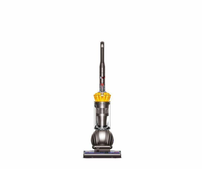 """<p><strong>Dyson</strong></p><p>amazon.com</p><p><strong>$279.00</strong></p><p><a href=""""https://www.amazon.com/dp/B00SMLK2KW?tag=syn-yahoo-20&ascsubtag=%5Bartid%7C10060.g.18672103%5Bsrc%7Cyahoo-us"""" rel=""""nofollow noopener"""" target=""""_blank"""" data-ylk=""""slk:Shop Now"""" class=""""link rapid-noclick-resp"""">Shop Now</a></p><p><strong>Consumer Score: </strong>85% give it 4 stars or higher </p><p>Dyson is one of the top names you'll want to consider when vacuum shopping, but not all of their models may be out of reach for your budget. This upright, corded vacuum is a great investment at under $300 for those who have a variety of floor types in their homes. The cleaner head will self-adjust when you switch from carpet to hardwood floor, and the wand and hose allow you to clean off the floor as well. Dyson's ball technology makes steering easier than ever, and it comes with a five-year warranty.</p>"""