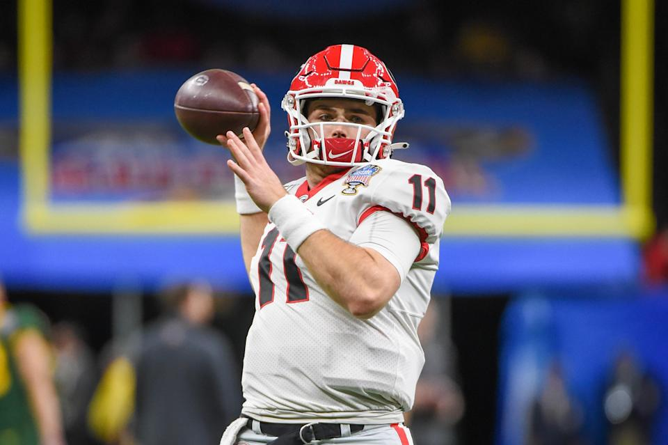 Josh Allen, who found himself in a similar situation upon joining the Bills in 2018, believes that Jake Fromm is making good progress after apologizing for leaked offensive texts last week. (Ken Murray/Icon Sportswire/Getty Images)