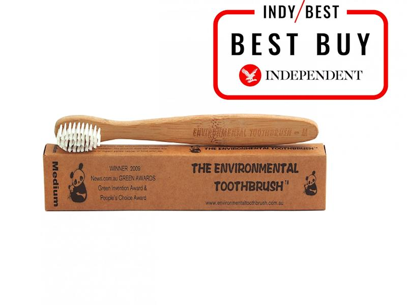 Swap out a traditional toothbrush for this eco-friendly designThe Independent