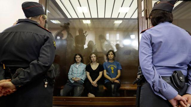 Jailed Russian Punk Feminists' Appeal Delayed