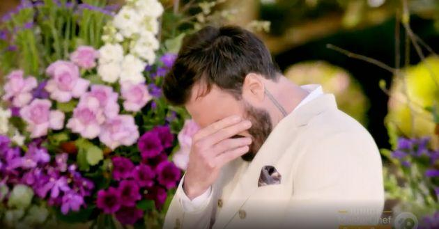 'The Bachelor Australia's Locky Gilbert struggled to make a decision during Thursday night's finale