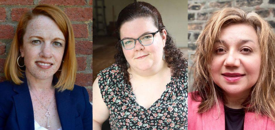Rebecca Cokley (left) is a disability rights activist and program officer at the Ford Foundation; Emily Ladau is an author and disability rights activist; and Leonor Vanik is president of the National Coalition for Latinxs with Disabilities. (Photo: Photos courtesy of Rebecca Cokley; by Rick Guidotti, Positive Exposure; courtesy of Leonor Vanik)