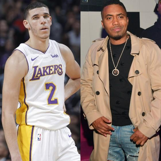 Twitter Thinks Lonzo Ball Is Throwing Shade (Again) At Nas Over This Hoodie