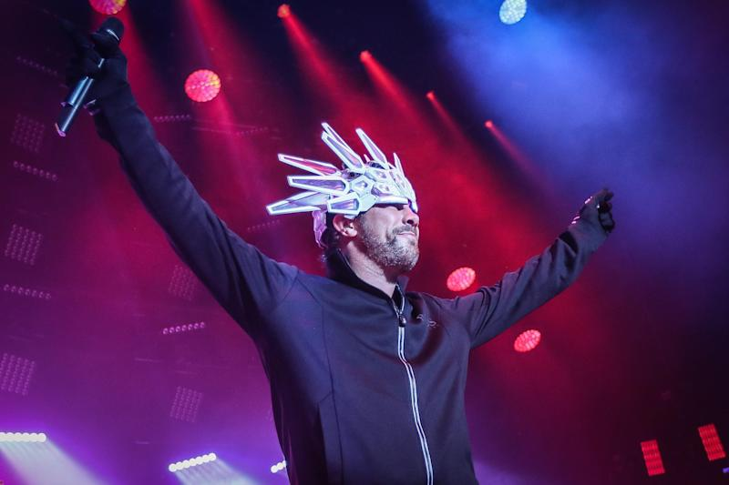 Jamiroquai performs at The Roundhouse in London: Nicky Kelvin