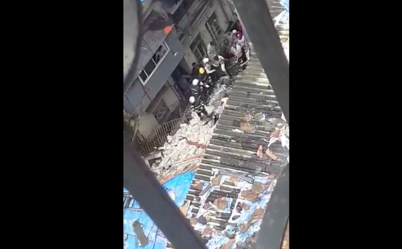 Over 40 People Feared Trapped In Mumbai Building Collapse