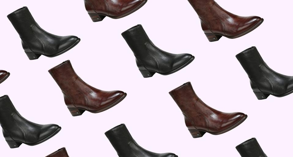 Nordstrom's summer sale includes the Hilary boots by Sam Edelman.
