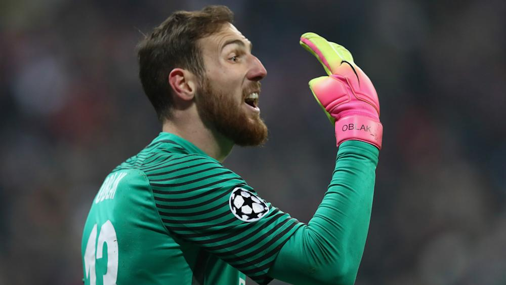 Jan Oblak Champions League Atletico Madrid