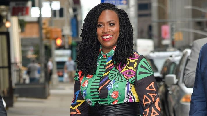 Rep. Ayanna Pressley Revealed Her Bald Head in a Powerful New Video About Alopecia