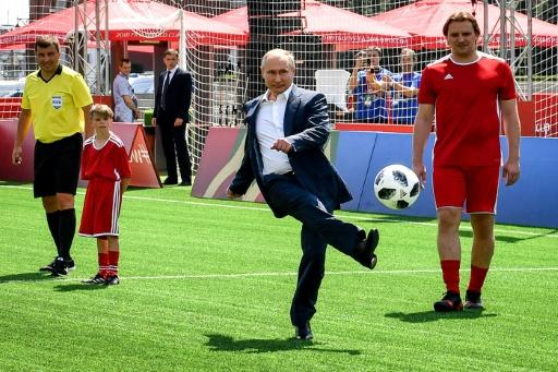 Putin congratulates Russian Federation after World Cup exit