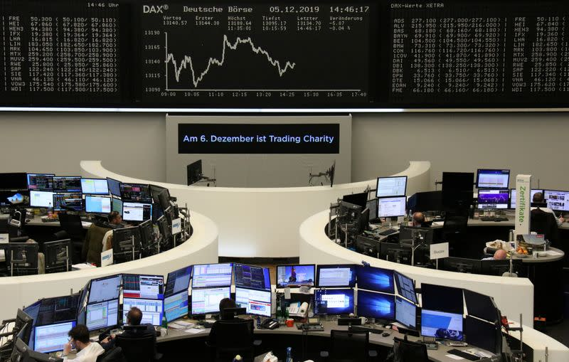 Strong U.S. jobs numbers, trade optimism bolster European shares