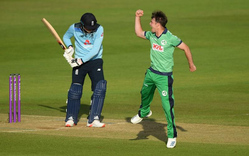 Curtis Campher impressed with bat and ball for Ireland - GETTY IMAGES