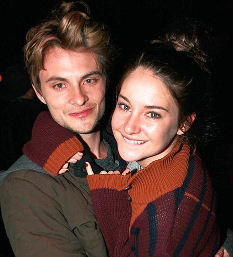 Shailene Woodley Makes Out With Shiloh Fernandez at Sundance!