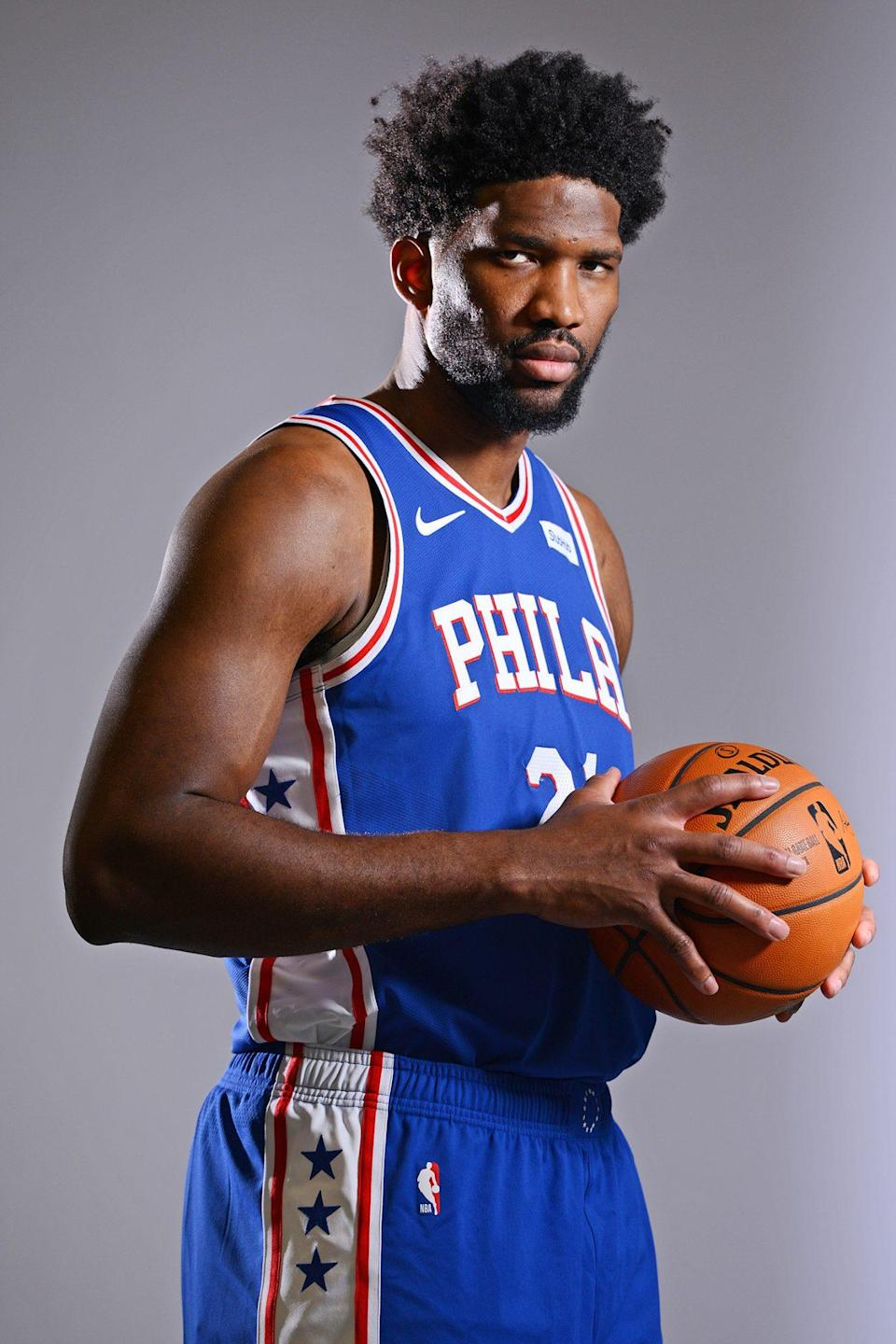 <p>Embiid, of the Philadelphia 76ers, is not new to the All-Star Game as a four-time selection.</p>