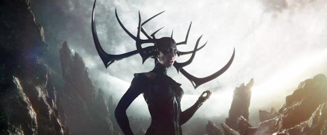 Cate Blanchett as Hela in <em>Thor: Ragnarok.</em> (Photo:Walt Disney Studios Motion Pictures/Marvel Studios)