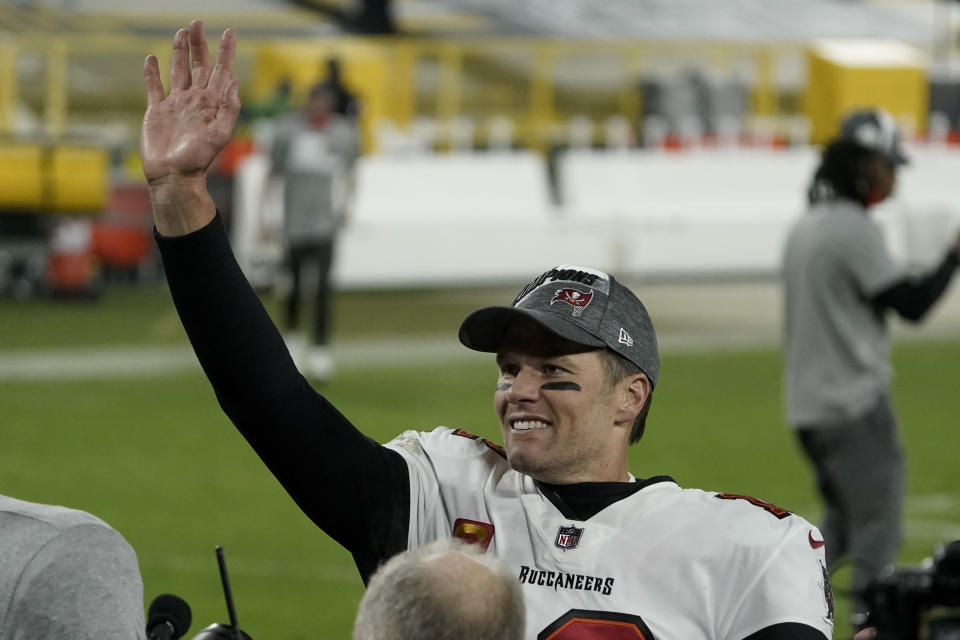 Tampa Bay Buccaneers quarterback Tom Brady made a lot of history with this Super Bowl run. (AP Photo/Morry Gash)