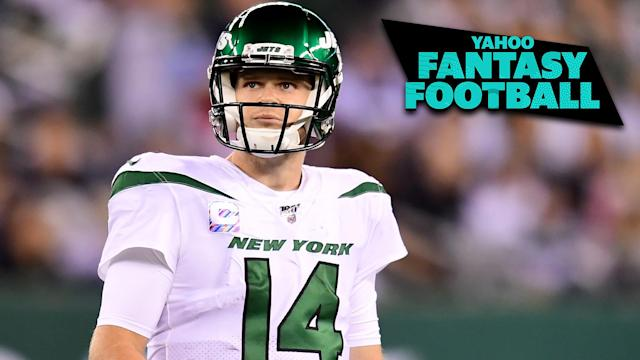 Sam Darnold's impressive return headlines this episode of the Yahoo Fantasy Football Podcast. (Photo by Emilee Chinn/Getty Images)