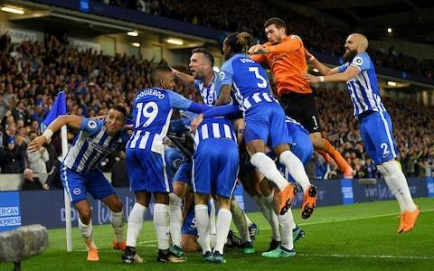 <span>Brighton stayed up with games to spare</span> <span>Credit: Getty Images </span>