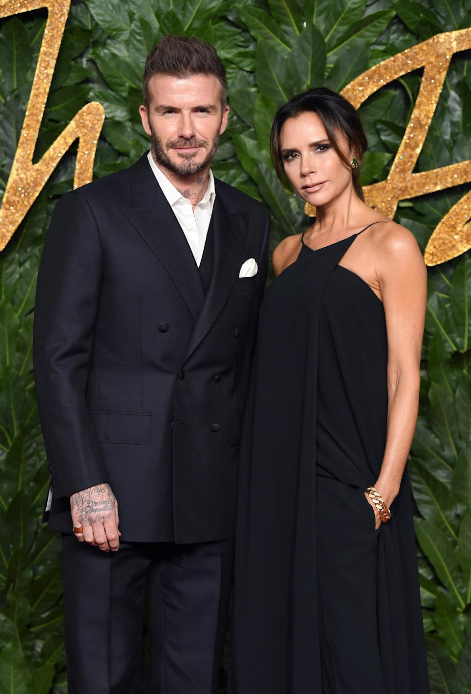 <p>The Beckhams have transcended their football and Spice Girl pasts to become an entity of their own. The pair have managed to break-into the Hollywood scene after finding success across the pond and remain strong after more than 21 years of marriage. <em>(Image via Getty Images)</em></p>
