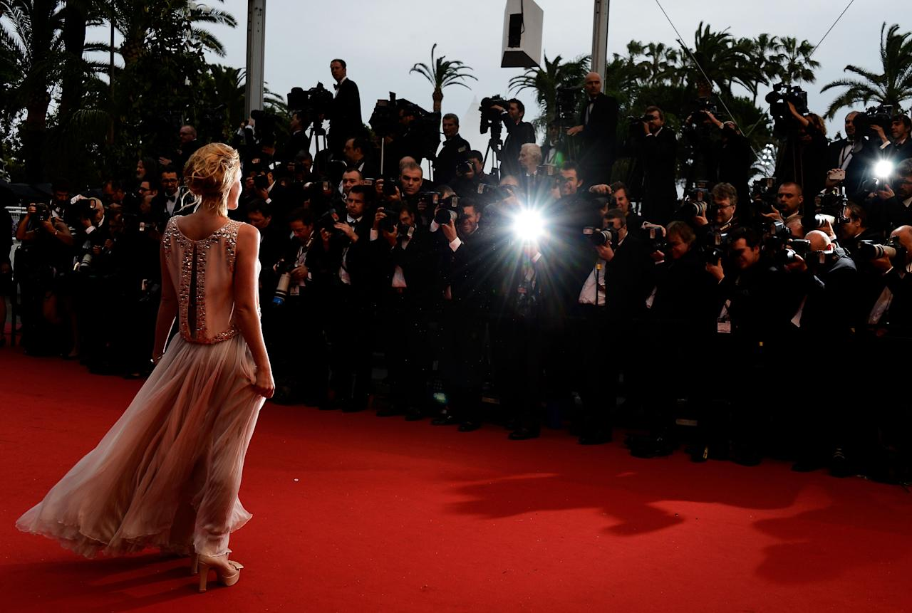 CANNES, FRANCE - MAY 15:  Ludivine Sagnier attends the Opening Ceremony and 'The Great Gatsby' Premiere during the 66th Annual Cannes Film Festival at the Theatre Lumiere on May 15, 2013 in Cannes, France.  (Photo by Pascal Le Segretain/Getty Images)