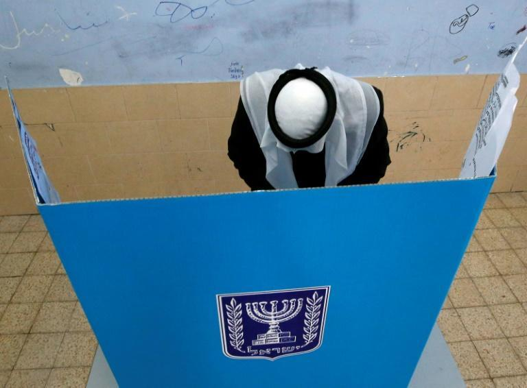 A member of the Arab Israeli community, which has seen growing political importance in the Jewish state, cast his vote in March elections last year in the Bedouin town of Rahat