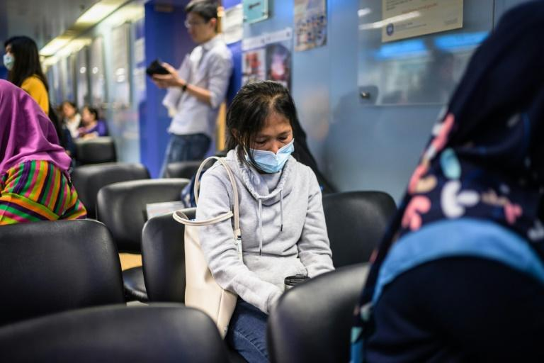 Baby Jane Allas had to regularly apply for visa extensions in Hong Kong after losing her job as a domestic helper while battling cancer