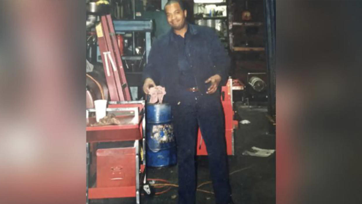 Eliot Middleton's dad, Kevin Wayne Middleton, Sr., was a mechanic. He passed away last year, but continues to inspire his son. (Photo: Eliot Middleton)