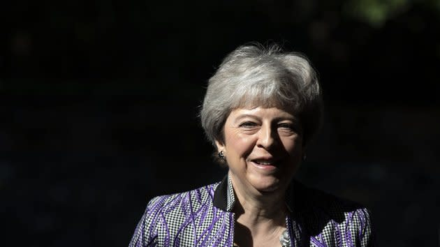 The PM has come under heavy criticism for her handling of the Brexit process, but survived a vote of confidence in December.