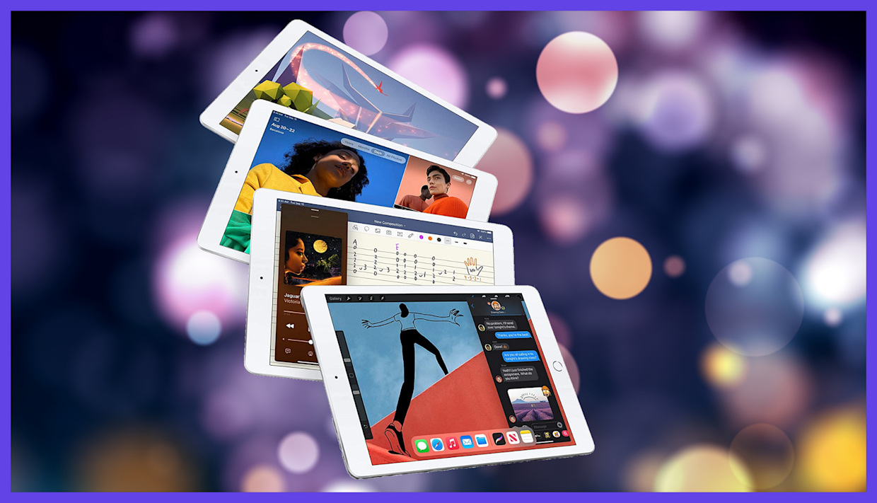 Sleek, speedy, and never more affordable. We — and HSN — give you the latest Apple iPad. (Photo: Apple)