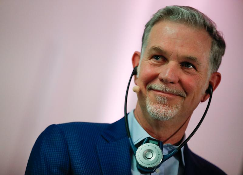 Reed Hastings, co-founder and CEO of Netflix attends the inauguration of Netflix new offices in Paris, France, January 17, 2020. REUTERS/Gonzalo Fuentes