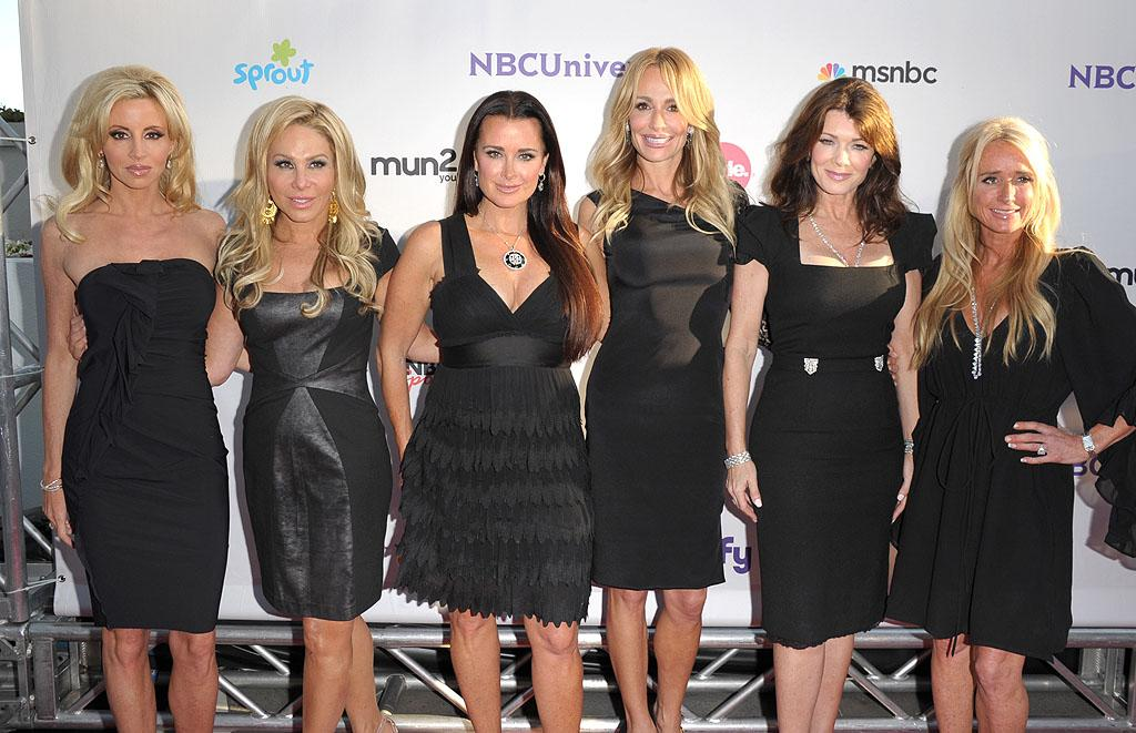 """<p class=""""MsoNoSpacing"""">Psychic readings have become a reoccurring theme on """"The Real Housewives of Beverly Hills."""" Who can forget the epic meltdown that occurred when Camille Grammer's friend Allison, the inspiration for the show """"Medium,"""" joyfully told Kyle Richards her husband would leave her – as she puffed away on an electronic cigarette? But the ladies went back for Round 2 last season when they had a reading with Kyle's personal psychic, Rebecca, who predicted that Camille would find a new man. Sure enough, she did: she's been dating attorney Dimitri Charalambopoulos since last summer.</p>"""