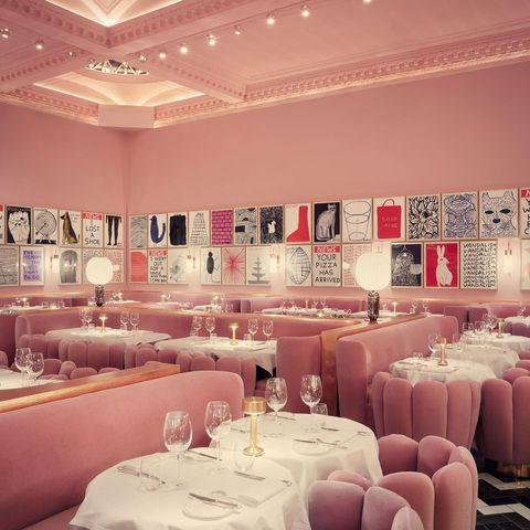 """<p>Not just any old afternoon tea though, specifically Sketch's in the all-pink Gallery lined with Brit artist David Shrigley's prints. It's the perfect place to tuck into the three-tiered cake stand laden with delicate finger sandwiches, truffle croquets, beautiful slices of strawberry and hibiscus Battenberg and shot glasses of cheesecake. Save room for scones and, finally, an enormous slice of Victoria sponge washed down with bubbly. Cheers.</p><p>From £49 per person.</p><p><a class=""""link rapid-noclick-resp"""" href=""""https://sketch.london/"""" rel=""""nofollow noopener"""" target=""""_blank"""" data-ylk=""""slk:BOOK HERE"""">BOOK HERE</a></p><p><strong><a href=""""https://www.hearstmagazines.co.uk/cosmopolitan-magazine-subscription-website?utm_source=cosmopolitan.co.uk&utm_medium=referral&utm_content=article"""" rel=""""nofollow noopener"""" target=""""_blank"""" data-ylk=""""slk:Subscribe here"""" class=""""link rapid-noclick-resp"""">Subscribe here</a></strong><strong> to have Cosmopolitan delivered to your door.</strong></p><p><strong>Like this article? </strong><a href=""""https://hearst.emsecure.net/optiext/optiextension.dll?ID=nPTl681bgeiKhoMTpW31pzPluR1KbK8iYdv56%2BzY5rdcCoNqPYqUsTx_%2BXEjZKPdzGeMe03lZk%2B1nA"""" rel=""""nofollow noopener"""" target=""""_blank"""" data-ylk=""""slk:Sign up to our newsletter"""" class=""""link rapid-noclick-resp""""><strong>Sign up to our newsletter</strong></a><strong> to get more articles like this delivered straight to your inbox.</strong></p><p><a href=""""https://www.instagram.com/p/CMcu75jDoyT/"""" rel=""""nofollow noopener"""" target=""""_blank"""" data-ylk=""""slk:See the original post on Instagram"""" class=""""link rapid-noclick-resp"""">See the original post on Instagram</a></p>"""